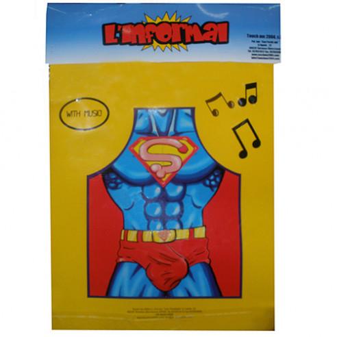 Delantal Super Picha Musical