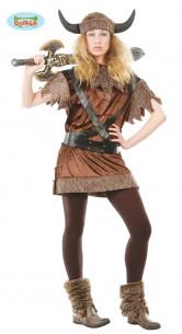 Disfraz de Vikinga Mujer