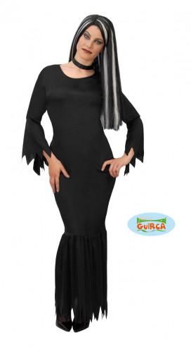 Disfraz de Morticia Addams