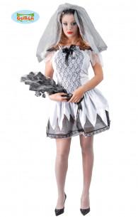 Disfraz novia cadáver Adulta
