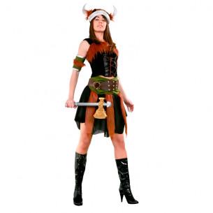 Disfraz de Vikinga Lujo...