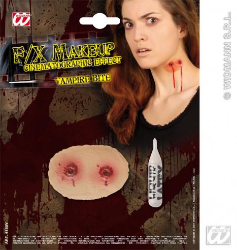 Herida Mordedura Vampiro + Latex Liquido