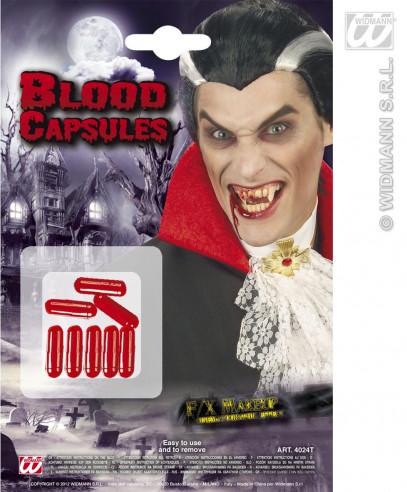 Sangre falsa en cápsulas