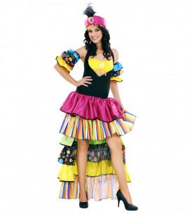 Disfraz Salsa Mujer