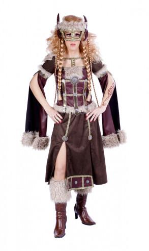 Disfraz de Vikinga Lujo para Mujer
