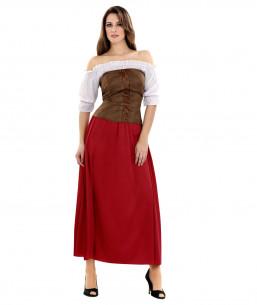 Disfraz Tabernera Para Mujer