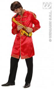 Disfraz Músico De Epoca Rojo