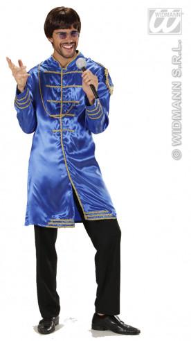 Disfraz Músico De Epoca Azul