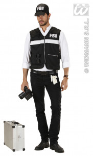 Disfraz Agente Del Fbi Para...