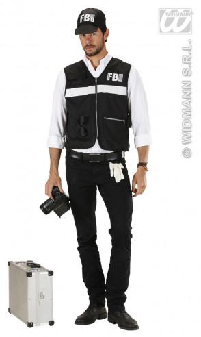 Disfraz Agente Del Fbi Para Hombre