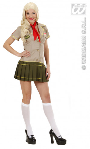 Disfraz Chica Scout Para Mujer