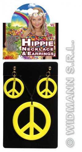 Set Hippie Colgante Y Pendientes...