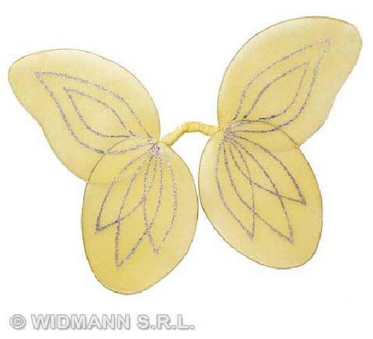 Alas Hada Purpurina Moldeables Amarillas