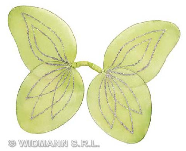 Alas Hada Purpurina Moldeables Verdes
