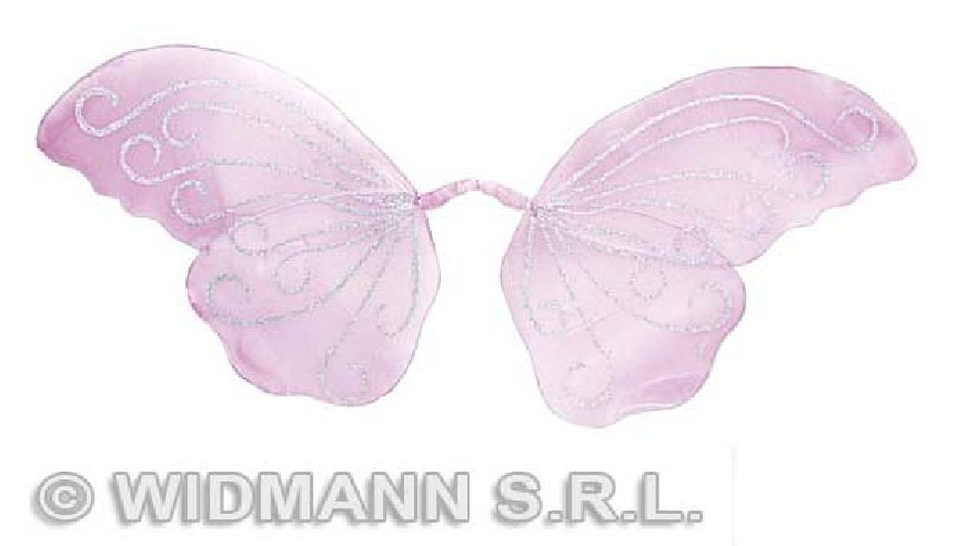 Alas Mariposa Purpurina Moldeables Lilas