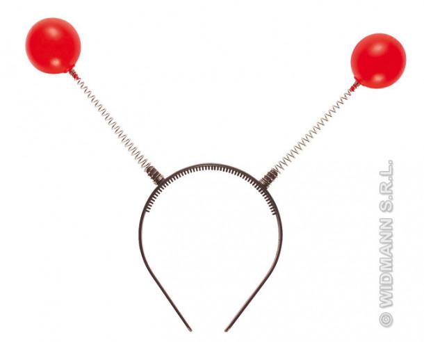 Antena De Bolas Rojas