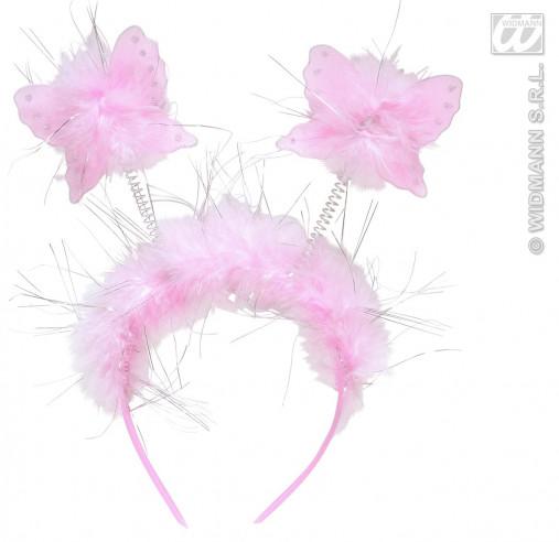 Diadema Antenas Mariposa