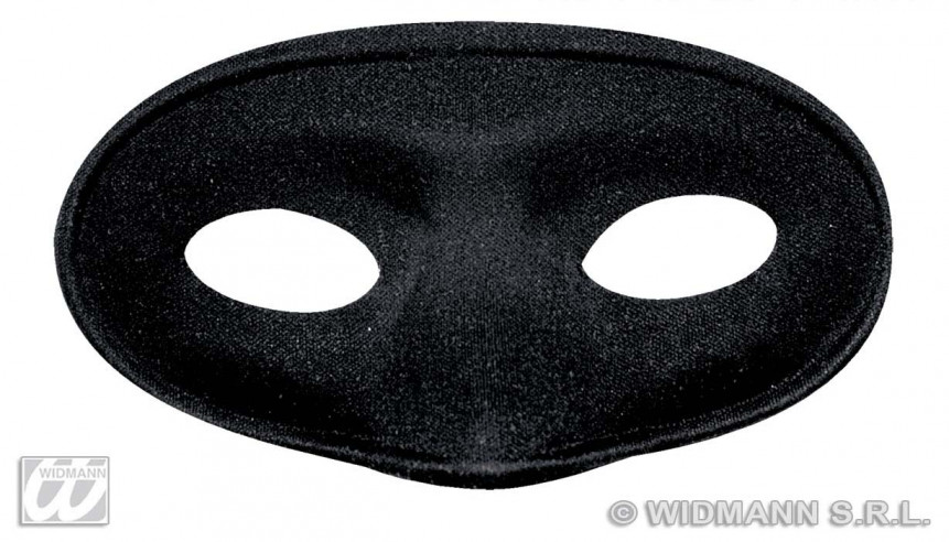 Antifaz Enmascarado Negro