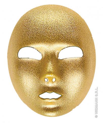 Máscara Tela Dorada