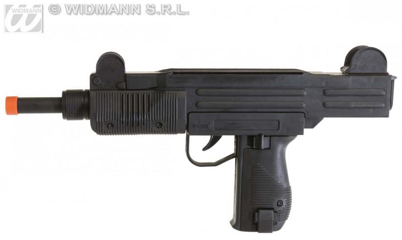 Pistola Con Sonido Ametralladora
