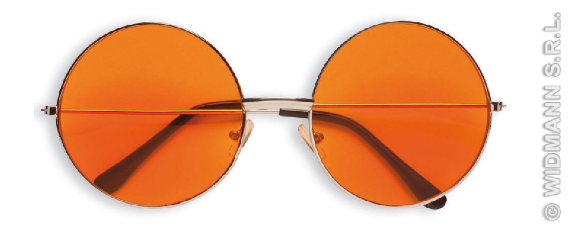 Gafas Años 70 Naranjas