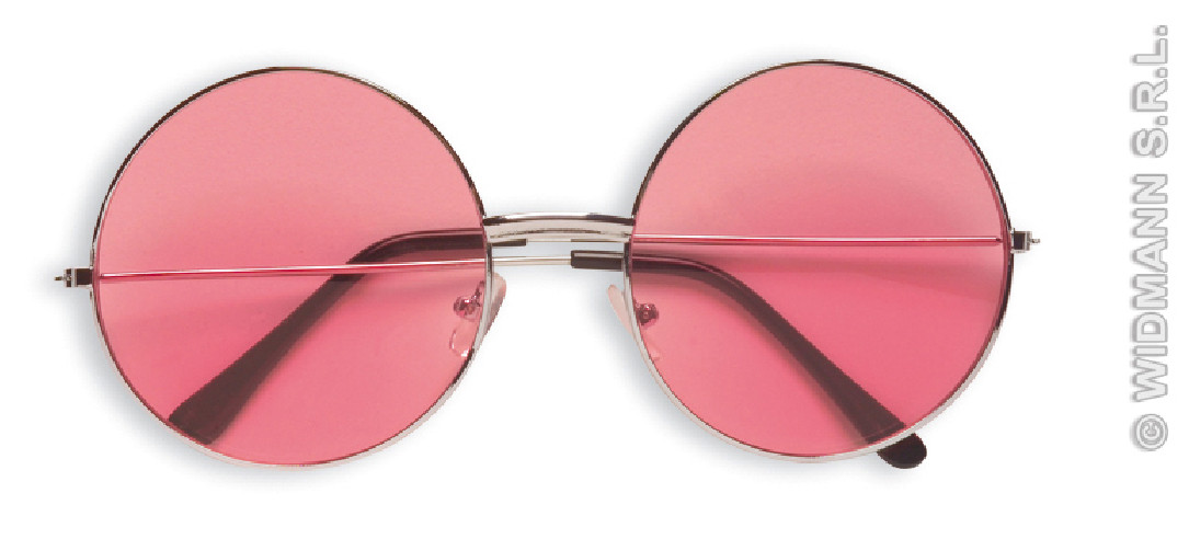 Gafas Años 70 Rosas