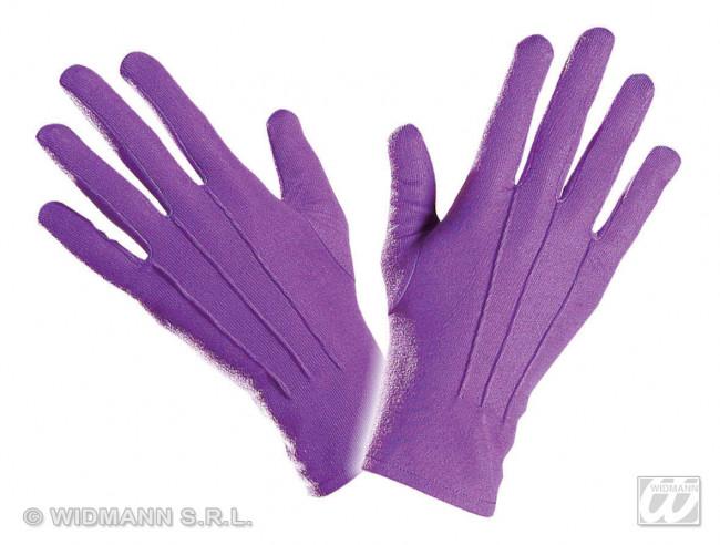Guantes Violetas