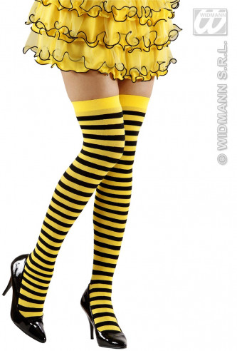 Calcetines Muslo Abeja