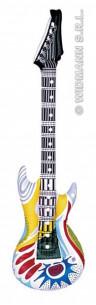 Guitarra Hinchable Colores...
