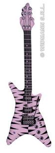Guitarra Hinchable Lila 107 Cm