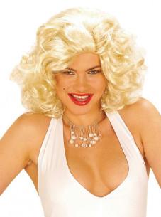 Peluca Marilyn Lujo