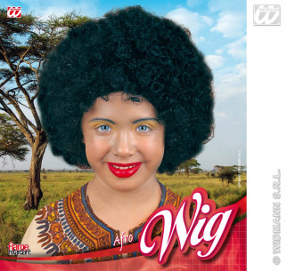 Peluca Afro Unisex Infantil