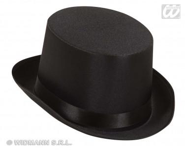 Sombrero Copa Raso Negro