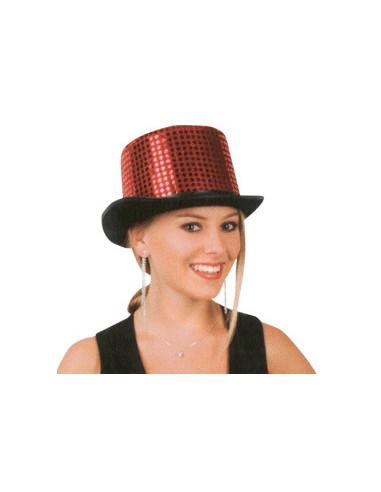 Sombrero Glamour Rojo