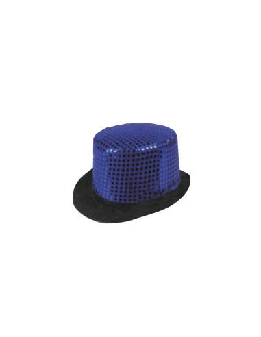 Sombrero Glamour Azul