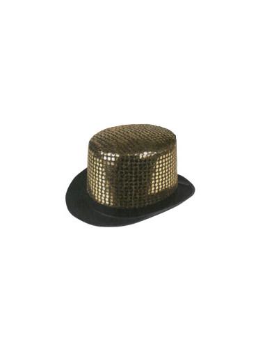 Sombrero Glamour Dorado