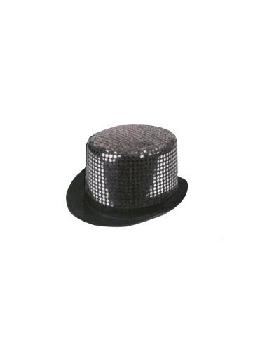 Sombrero Glamour Plateado