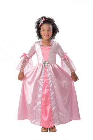Disfraz Princesa Rosa Estrellitas