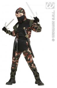 Disfraz Soldado Ninja Niño