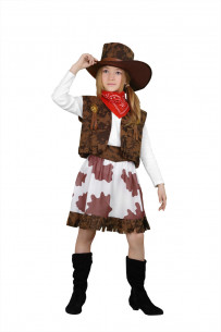 Disfraz de vaquera niña