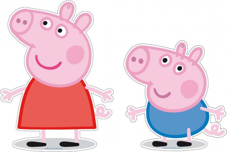 Mini Figuras Cumpleaños Peppa Pig