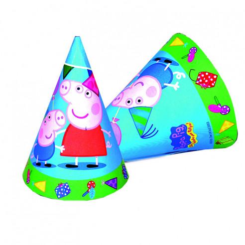 6 Sombreros de Cono para Cumpleaños...