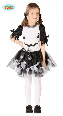 Disfraz de fantasma para niña