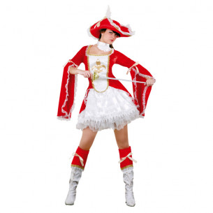 Disfraz Lady Mosquetera