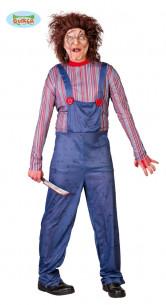 Disfraz de muñeco diabólico