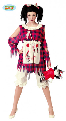 Disfraz de muñeca de trapo