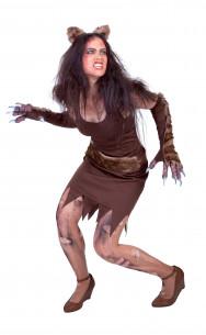 Disfraz de mujer lobo