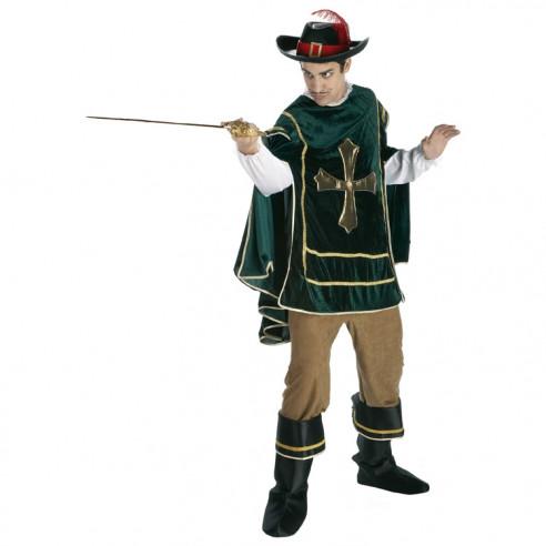 Disfraz Mosquetero Verde