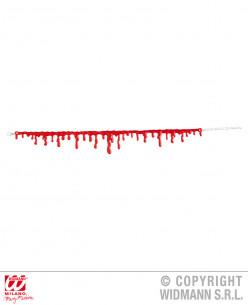 Collar con gotas de sangre