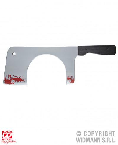 Cuchillo de carnicero que atraviesa...